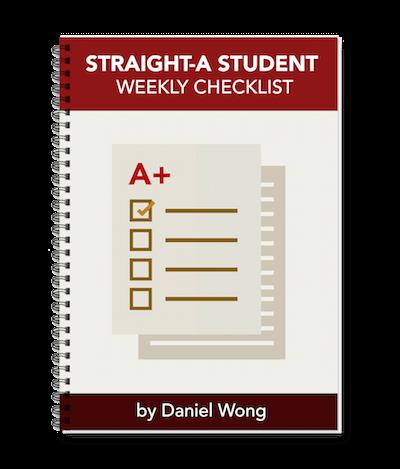 straight-a student checklist