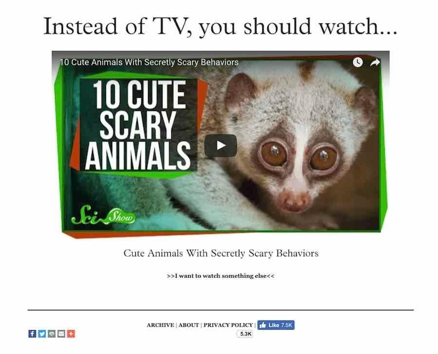 UnplugTheTV